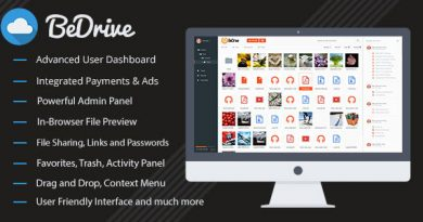 BeDrive v13 File Sharing and Cloud Storage