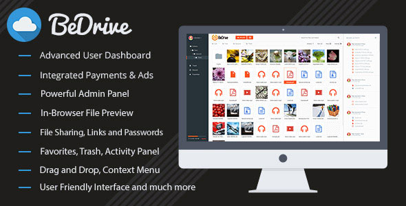 BeDrive v1.3 - File Sharing and Cloud Storage