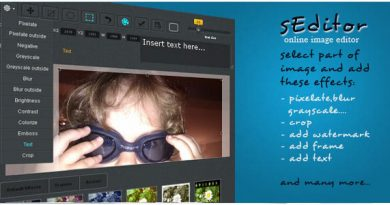 sEditor online image editor | Images and Media