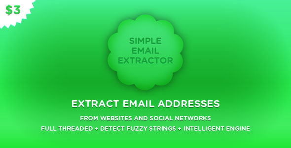 Simple Email Extractor v2.4
