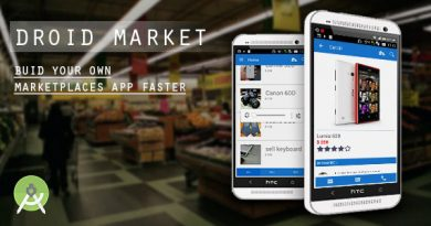 DroidMarket marketplaces app with CMS