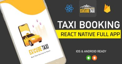 Exicube Taxi Taxi Booking Full App