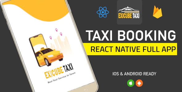 Exicube Taxi - Taxi Booking Full App